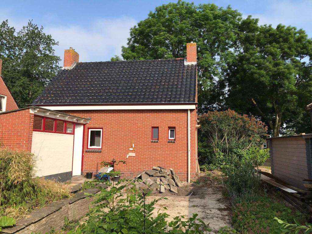 Aan- en verbouw woning Engelbert, voor aanvang bouw.