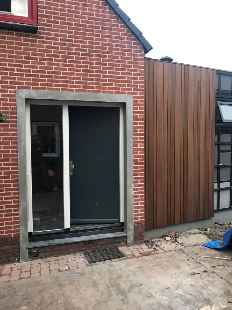 Engelbert, voordeur inclusief sparing gerealiseerd.